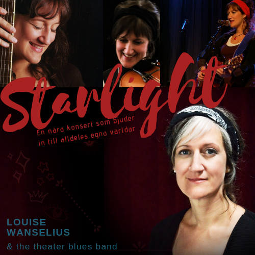 Louise Wanselius & the theatre blues band