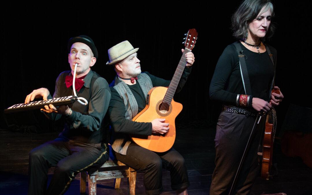 Louise & Theatre Bluesband på AHA-festivalen